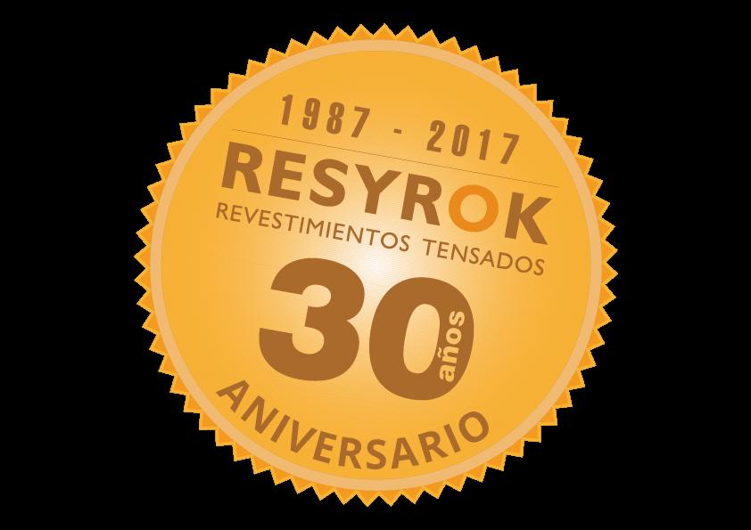 30 aniversario de los techos tensados RESYROK